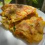 Patatesli Sebzeli Omlet